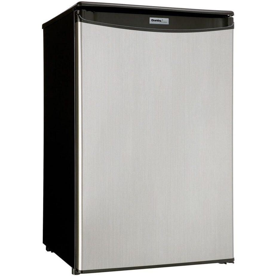 Danby DAR044A5BSLDD Compact Refrigerator, Spotless Steel Door, 4.4 Cubic Feet best refrigerator for smallkitchen