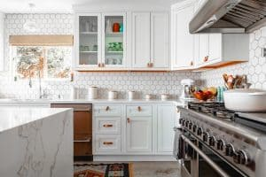 why paint kitchen cabinets white