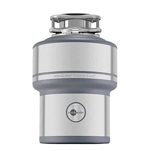 InSinkErator Garbage Disposal, Evolution Excel, 1.0 HP Continuous Feed best garbage disposal for farmhouse sink