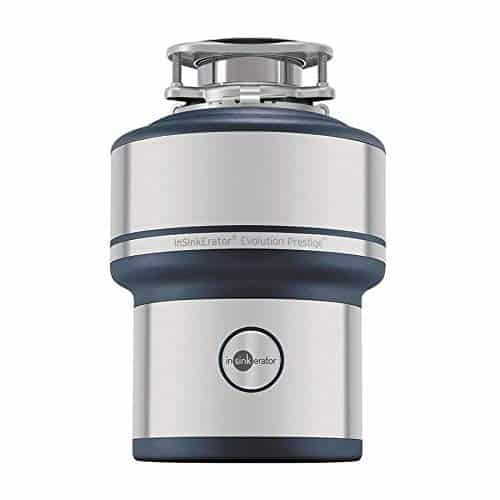 InSinkErator Prestige Evolution Prestige 1-HP Noise Insulated Garbage Disposal, Silver  best garbage disposal for farmhouse sink review