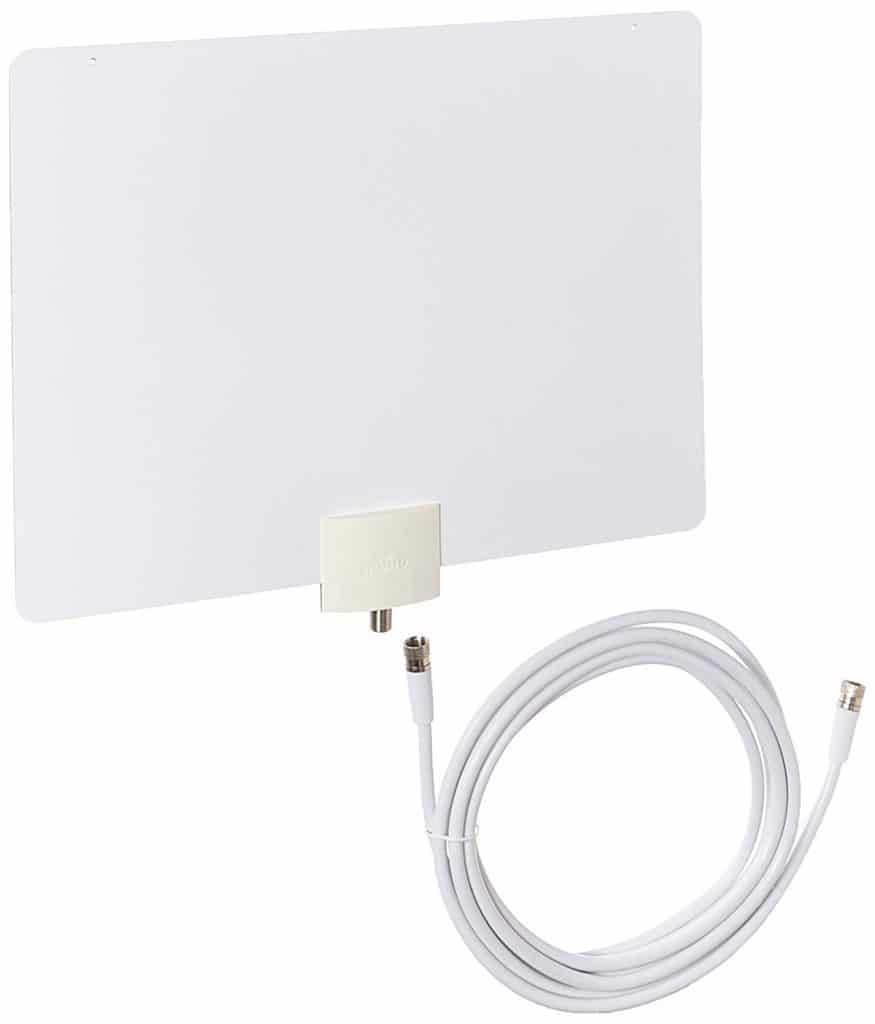 Mohu Leaf 30 TV Antenna, Indoor, 40 Mile Range, Original Paper-thin, Reversible, Paintable, 4K-Ready HDTV best attic antenna for multiple tvs