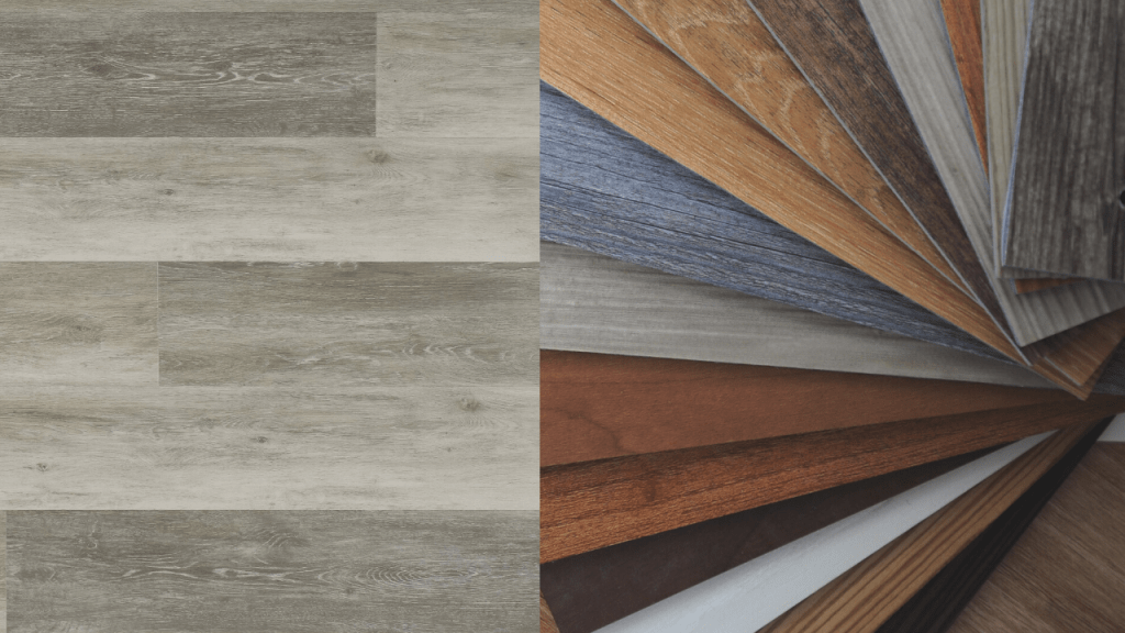 types of vinyl floors installation