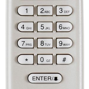are garage door keypads safe