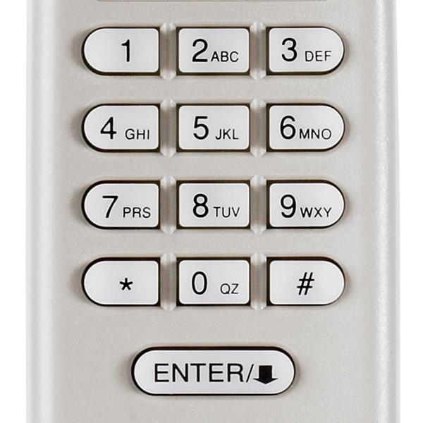 Garage Door Keypad numbers pin code