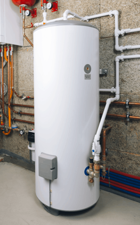 does gas water heater need electricity installed powered