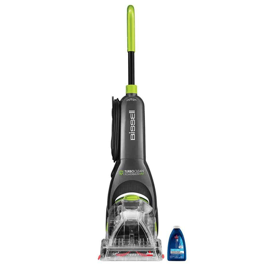 BISSELL Turboclean Powerbrush Pet Upright Carpet Cleaner Machine and Carpet Shampooer best carpet cleaner for stairs