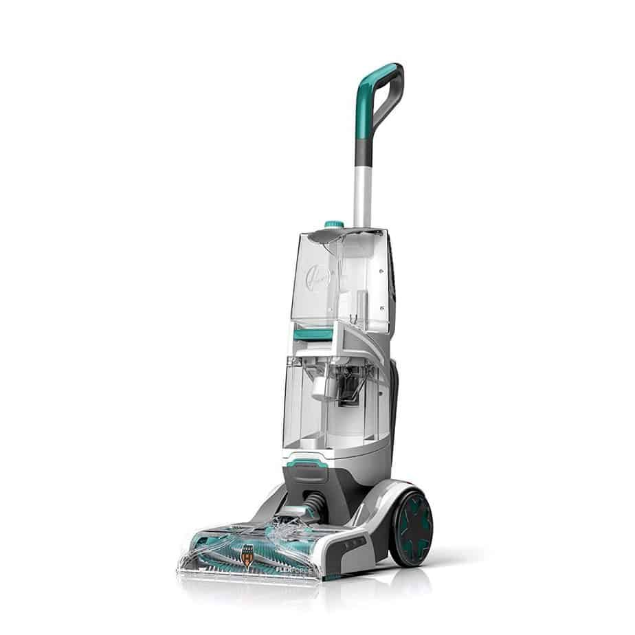 Hoover Smartwash Automatic Carpet Cleaner, FH52000, Turquoise for stairs review