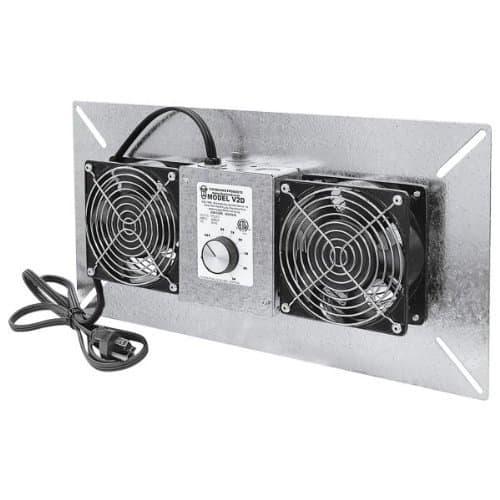 Tjernlund V2D UnderAire Crawlspace Ventilator Fan Moisture Mold Reducing,220 CFM review best ventilation fan for basement