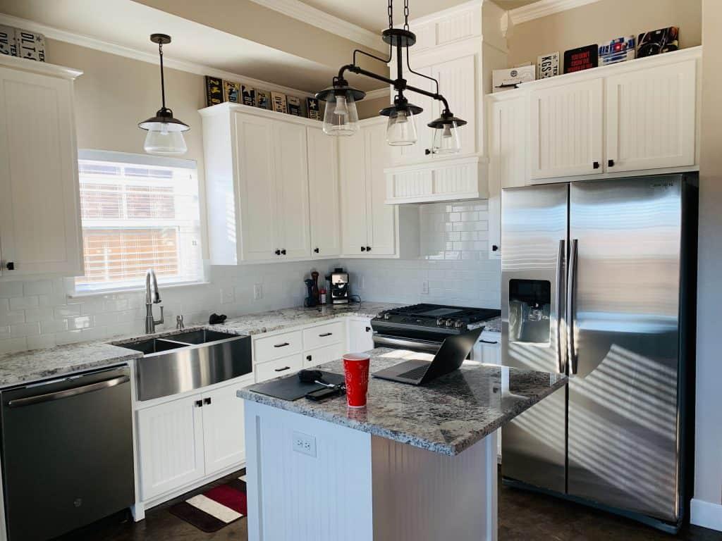 kitchen appliance brands need to match fridge freezer gray colors