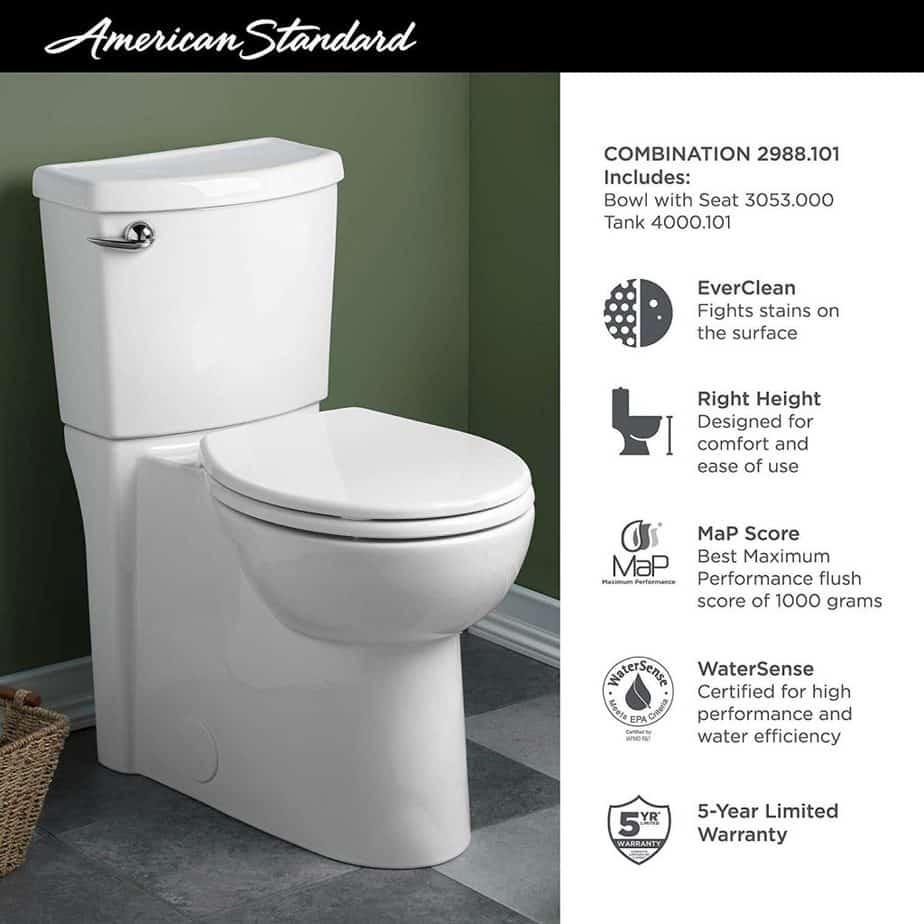 american standard cadet 3 dual flush problems review