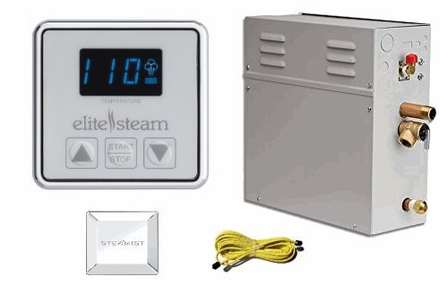elitesteam 10 kilo watt steam generator head with cable kit Review installation