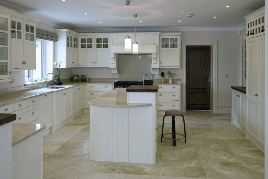 should kitchen island be centered dimension width guidelines