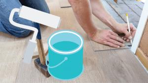 can vinyl floor be painted