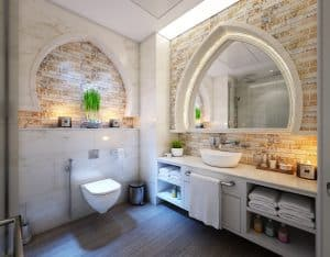 is vinyl flooring good for bathrooms