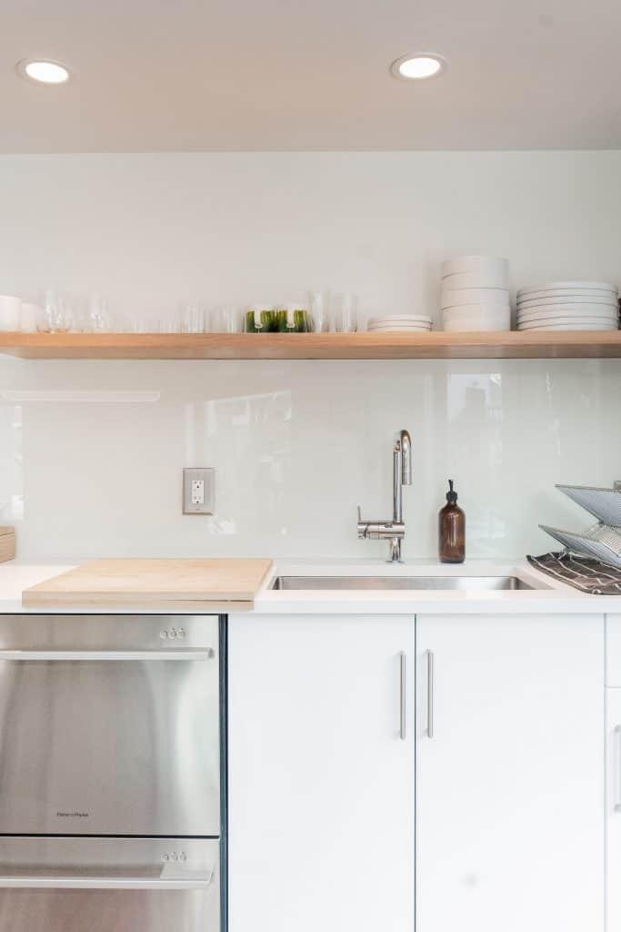 Can you put a dishwasher in a corner