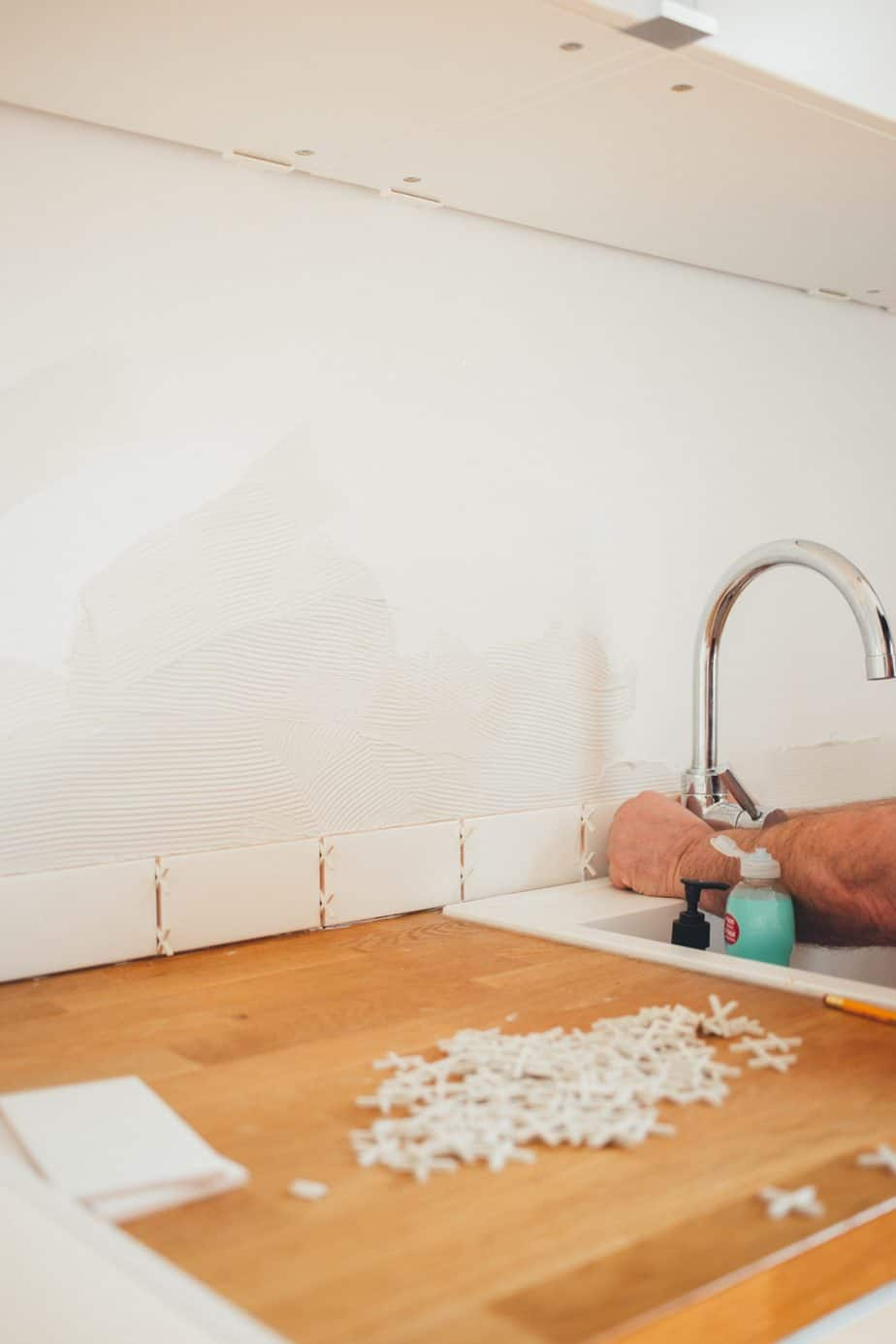 Can You Tile Over Wallpaper Best Home Fixer