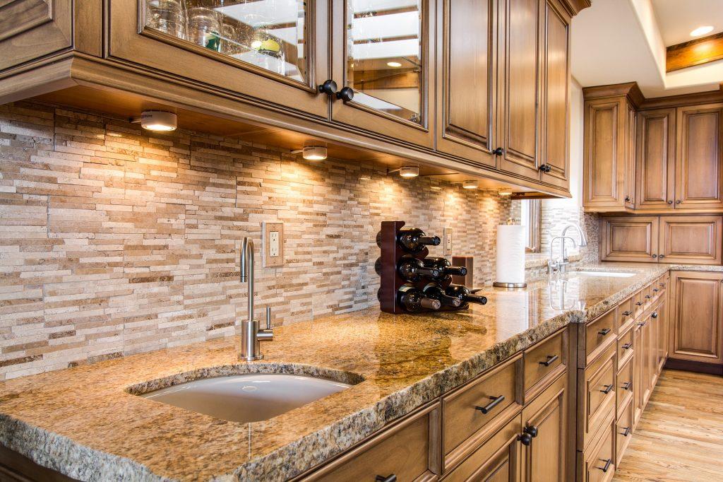should kitchen granite match bathroom granite