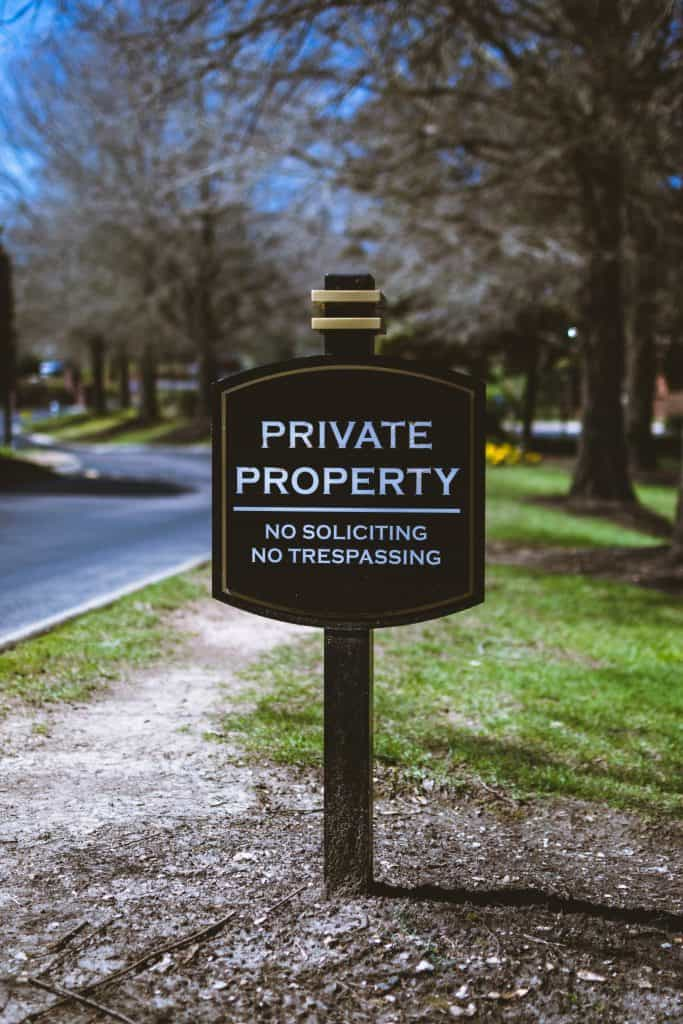 Are Driveways Private Property