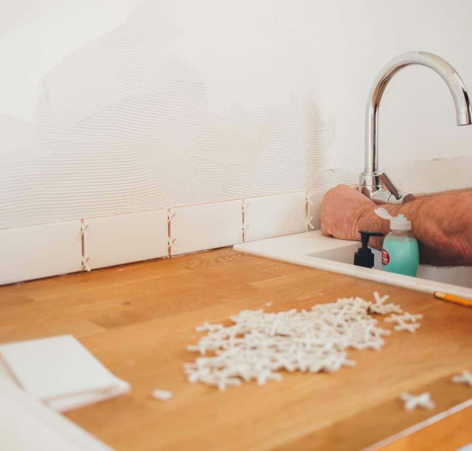 Do You Grout Between Backsplash and Countertop